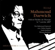 Mahmoud Darwich: Recital - CD