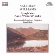 Vaughan Williams: Symphonies Nos. 3, 'Pastoral', and 6 - CD