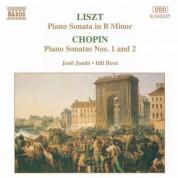 Liszt: Piano Sonata in B Minor / Chopin: Sonatas Nos. 1 and 2 - CD