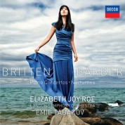 Elizabeth Joy Roe, Emil Tabakov, London Symphony Orchestra: Britten/ Barber: Piano Concertos - CD