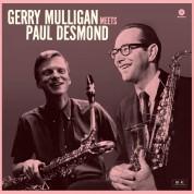 Gerry Mulligan, Paul Desmond: Gerry Mulligan Meets Paul Desmond + 1 Bonus Track! - Plak