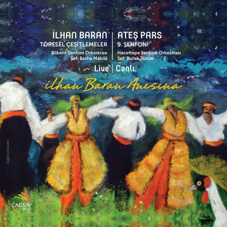 Sasha Makila, Burak Tüzün: İlhan Baran Anısına - Baran, Pars - CD