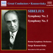 Sibelius: Symphonies Nos. 2 and 5 (Koussevitzky) (1935-1936) - CD