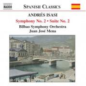 Isasi: Symphony No. 2, Op. 23 / Suite No. 2, Op. 21 - CD