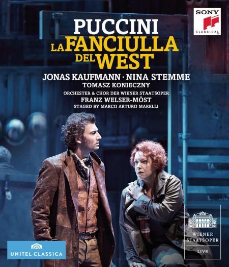Jonas Kaufmann, Nina Stemma, Tomasz Konieczny, The Metropolitan Opera Orchestra, Chorus and Ballet: Puccini: La Fanciulla Del West - BluRay