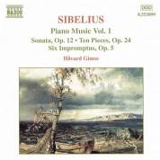 Sibelius: Piano Music, Vol.  1 - CD