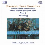 Péter Nagy: Romantic Piano Favourites, Vol. 4 - CD
