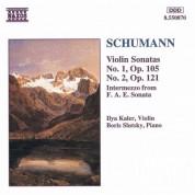 Ilya Kaler: Schumann: Violin Sonatas Nos. 1 & 2 - CD