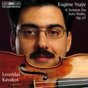 Leonidas Kavakos: Ysaye: 6 Sonatas for Solo Violin, Op.27 - CD