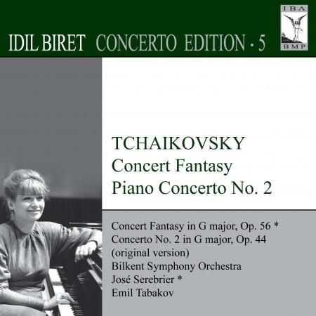 İdil Biret: Tchaikovsky: Concert Fantasy - Piano Concerto No. 2 (Biret Concerto Edition, Vol. 5) - CD
