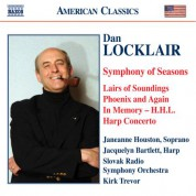 Locklair: Symphony of Seasons / Harp Concerto / Lairs of Soundings - CD