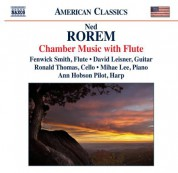 Fenwick Smith: Rorem: Chamber Music with Flute - CD