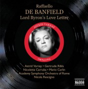 Gertrude Ribla: Banfield: Lord Byron's Love Letter - CD
