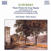 Jeno Jando, Ilona Prunyi: Schubert: Piano Works for Four Hands, Vol. 1 - CD