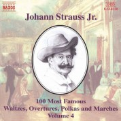 Strauss II: 100 Most Famous Works, Vol.  4 - CD