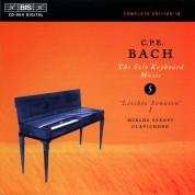 Miklós Spányi: C.P.E. Bach: Solo Keyboard Music, Vol. 5 - CD