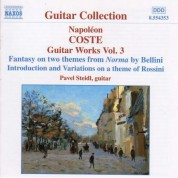 Coste: Guitar Works, Vol.  3 - CD