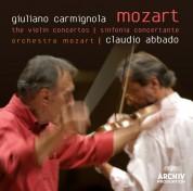 Claudio Abbado, Danusha Waskiewicz, Giuliano Carmignola, Orchestra Mozart: Mozart: The Violin Concertos - CD