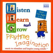 Çeşitli Sanatçılar: Listen, Learn And Grow: Playtime Imagination - CD