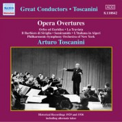 Gluck / Rossini / Verdi: Opera Overtures (Toscanini) (1929, 1936) - CD