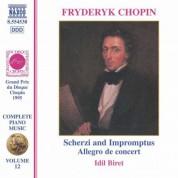 İdil Biret: Chopin: Scherzos / Impromptus / Allegro De Concert - CD