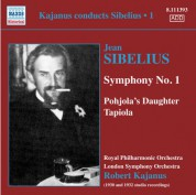 Robert Kajanus: Kajanus Conducts Sibelius, Vol. 1 - CD