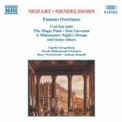 Mozart / Mendelssohn: Famous Overtures - CD