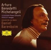 Arturo Benedetti Michelangeli, Daniel Barenboim, Orchestre de Paris: Debussy/ Schumann: Images/ Piano Concerto - CD