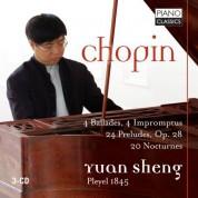 Yuan Sheng: Four Ballades, Four Impromptus, 24 Preludes, 20 Nocturnes - CD