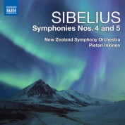 Pietari Inkinen: Sibelius: Symphonies Nos. 4 & 5 - CD
