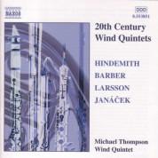 Hindemith / Barber / Larsson / Janacek: Wind Quintets - CD