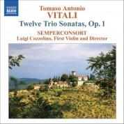 Semperconsort: Vitali: Trio Sonatas, Op. 1 - CD