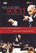The Bavarian Radio Symphony Orchestra, Sir Georg Solti: Sir Georg Solti - In Concert (Shostakovich: Sym. No.9, Tchaikovsky: Sym. No.6) - DVD
