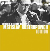 Mstislav Rostropovich: Historic Russian Archives - CD
