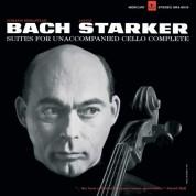 János Starker: Bach: 6 Solo Cello Suites - Plak