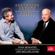 Ivan Moravec, Jiří Bĕlohlávek, The Prague Philharmonia: Ravel / Franck / Beethoven - CD