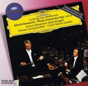Arturo Benedetti Michelangeli, Carlo Maria Giulini, Wiener Symphoniker: Beethoven: Piano Concertos 1+3 - CD