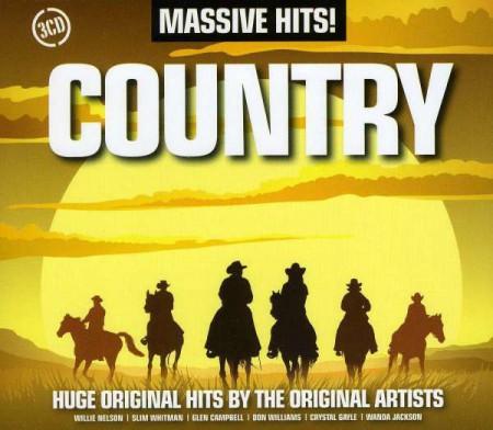 Çeşitli Sanatçılar: Massive Hits!: Country - CD