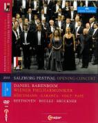 Dorothea Röschmann, Elina Garanca, Klaus Florian Vogt, Rene Pape, Wiener Philharmoniker, Daniel Barenboim: Salzburg Festival Opening Concert 2010 - DVD