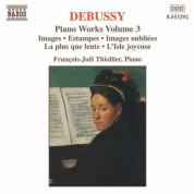 Francois-Joel Thiollier: Debussy: Piano Works, Vol. 3 - CD