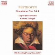 Zagreb Philharmonic Orchestra: Beethoven : Symphonies Nos. 7 and 4 - CD