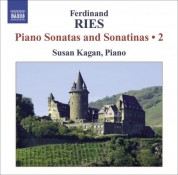 Susan Kagan: Ries: Complete Piano Sonatas and Sonatinas, Vol. 2 - CD