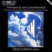 Alexei Lubimov: Post-avant-garde Piano Music from the ex-Soviet Union - CD