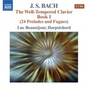J.S. Bach: The Well-Tempered Clavier, Book 1 - CD