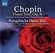 Kungsbacka Piano Trio: Chopin: Piano Trio - Variations for Flute - CD