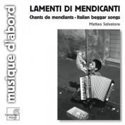 Matteo Salvatore: Lamenti di Mendicanti - CD