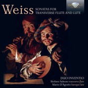Duo Inventio: Weiss: Sonatas for Transverse Flute and Lute - CD