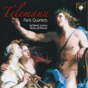 Jed Wentz, Igor Ruhadze, Cassandra L. Luckhardt, Job ter Haar, Michael Borgstede: Telemann: Paris Quartets - CD
