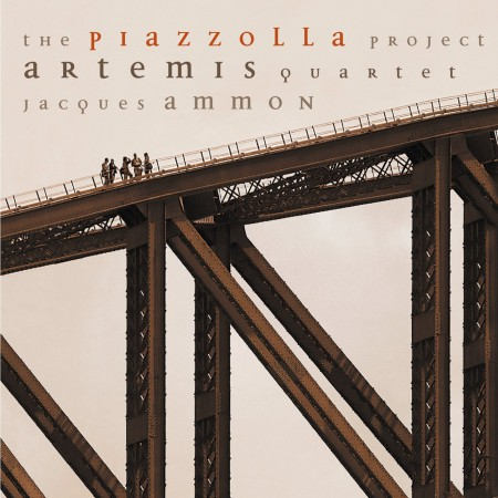 Artemis Quartet, Jacques Ammon: The Piazzolla Project - CD