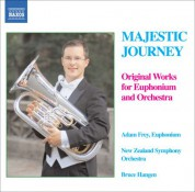 Adam Frey: Majestic Journey - Original Works for Euphonium and Orchestra - CD